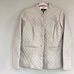 Isaac Mizrahi Live Quilted Leather Jacket